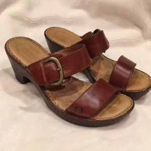 Leather Sandals by Born